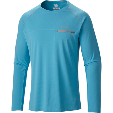 Columbia Men's PFG Cool Catch Tech Zero Long Sleeve Crewneck Tee