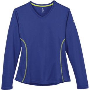 Greenlayer Ladies' Evolution Long Sleeve V-Neck Tee