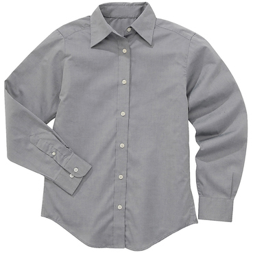 River's End Ladies' Easy-Care Pinpoint Oxford Long Sleeve Shirt