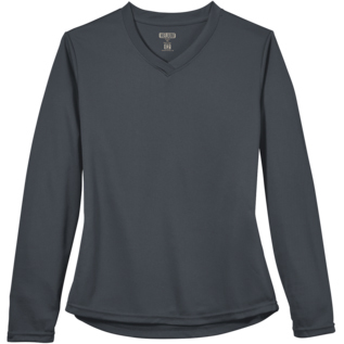 Greenlayer Ladies' Helium E2 Performance Long Sleeve V-Neck Tee