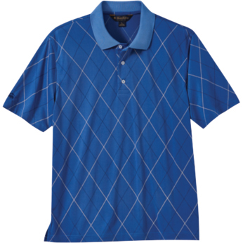 Brooks Brothers Men's Argyle Pique Short Sleeve Polo