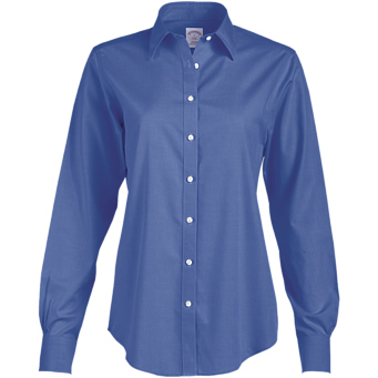 Brooks Brothers Ladies' 346 Non-Iron Long Sleeve Shirt