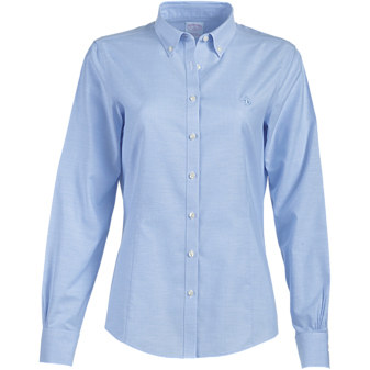 Brooks Brothers Ladies' 346 Button-Down Collar Non-Iron Oxford Long Sleeve Shirt