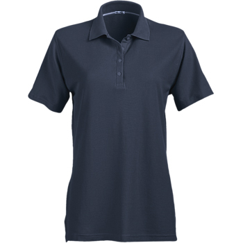 Page & Tuttle Ladies' No-Curl Pique Short Sleeve Polo