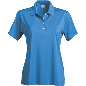 Page & Tuttle Ladies' Solid Jersey Short Sleeve Polo